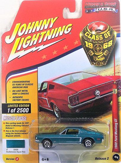 JLMC013-2A .. 1968 Ford Mustang GT