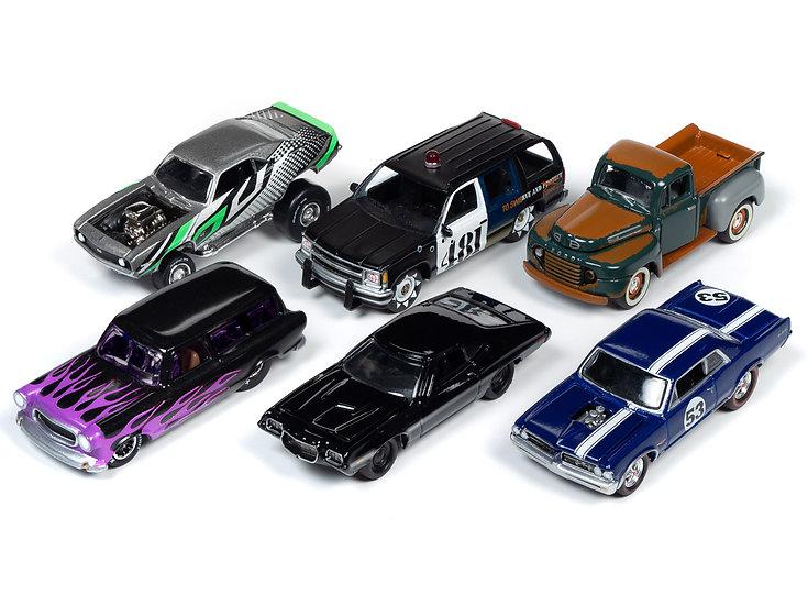 Johnny Lightning JLSF015 - Set A - 6 Car Case