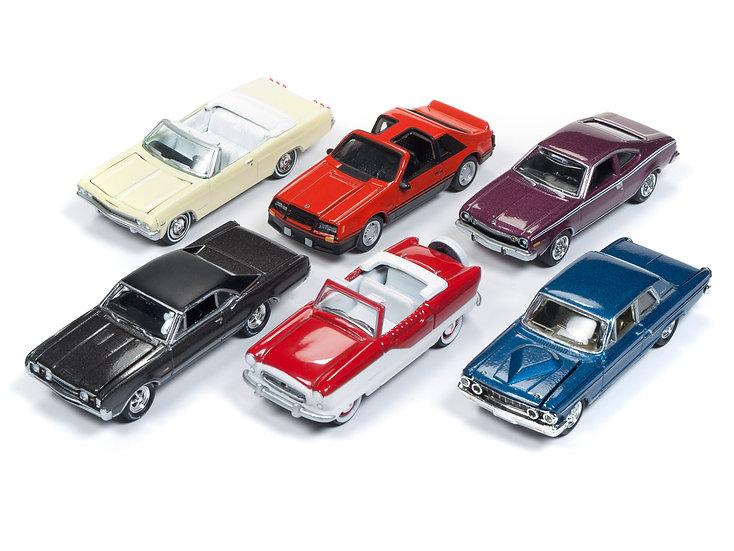 Johnny Lightning JLCG014 - Set A - 6 Car Case