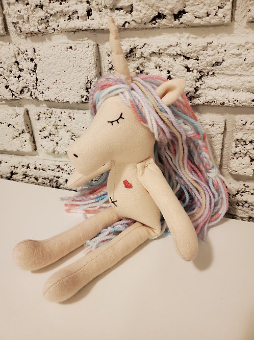 Mini Unicorn Doll