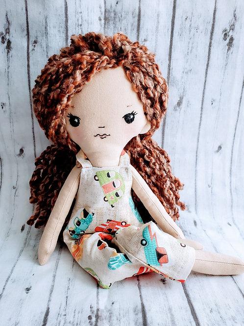 """16""""Heirloom Doll Brunette"""