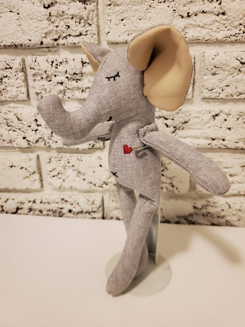 Mini Animal Doll-  Mouse or Elephant or Bunny