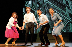 """Mary in """"Merrily We Roll Along"""""""