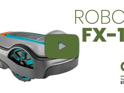 Para jardines de tamaño mediano, el robot cortacésped FX-7 y FX-12