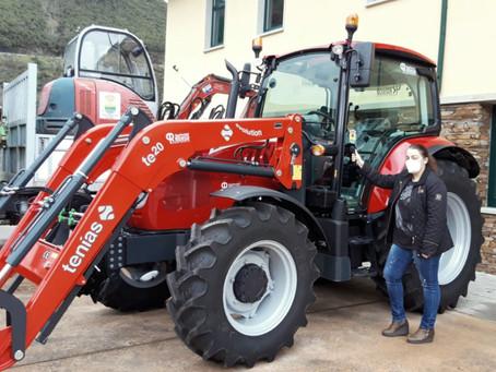 Agroforestal Rouco entrega al ayuntamiento de Folgoso do Courel el McCormick X5.55