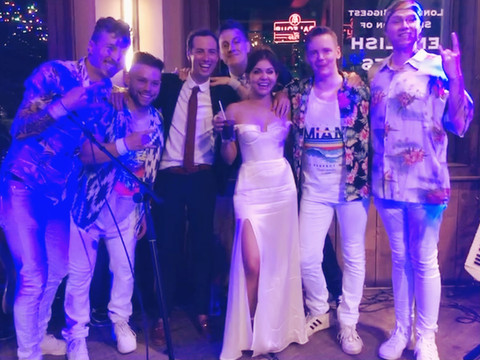 MIAMI VIBE PLAY BBC CELEBRITY WEDDING!!