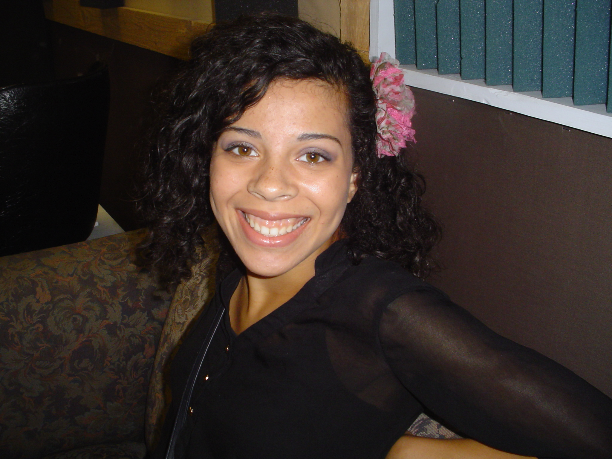 Vocalist Andrea Brown