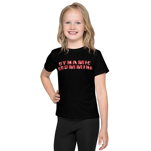 Dynamic Drumming Kids T-Shirt