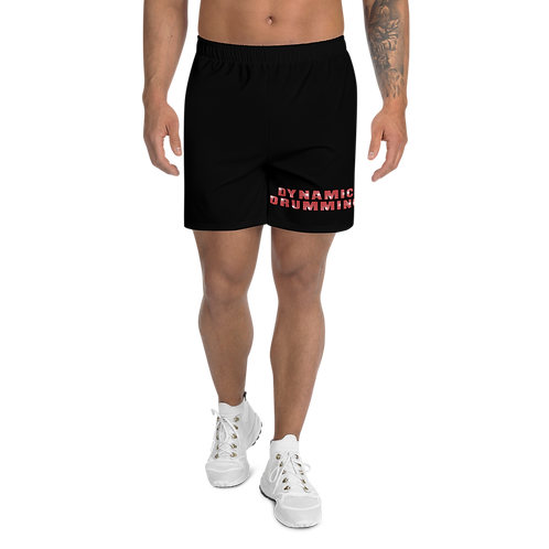 Dynamic Drumming Men's Athletic Long Shorts Black