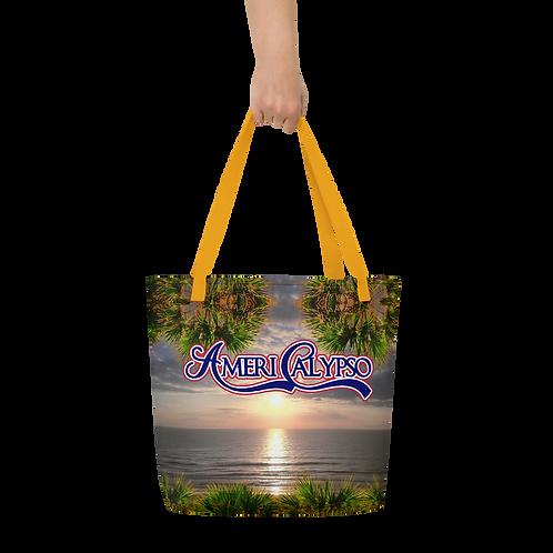 AmeriCalypso Album Art Beach Bag