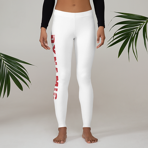 Dynamic Drumming Leggings White