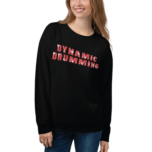 Dynamic Drumming Unisex Sweatshirt
