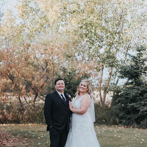 samantha + brad {wedding}