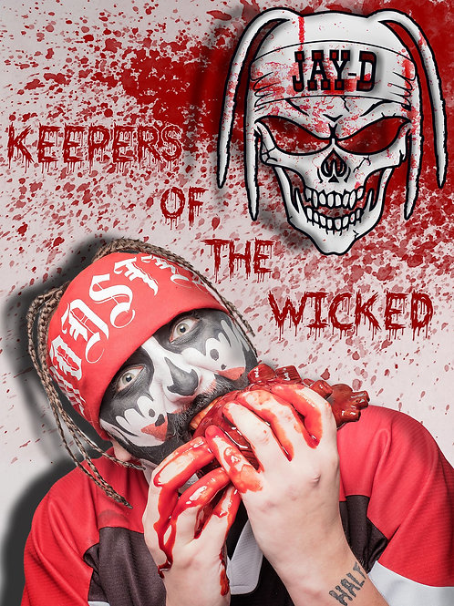 A3 Keepers Of The Wicked Poster