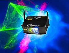 Cirrus Lazer and LED Wellington Party lighting hire