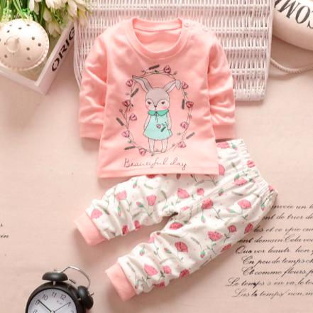חליפת חורף מכותנה לתינוקות ופעוטות