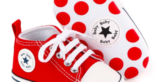 נעלי סניקרס  אלגנטיות לילדים - צעד ראשון לבייבי שלי