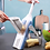 Thumbnail: מנדולינה מקצועית משולבת לחיתוך פירות וירקות 5 ב 1