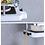 Thumbnail: מדף ארגון ואחסון למוט המקלחת ללא קדיחת חורים