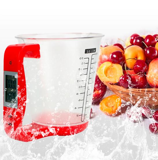 כוס מדידה דיגיטלית לתוצאות בישול מושלמות