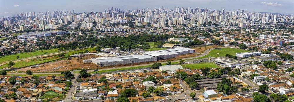 Fotografia aérea de goiania