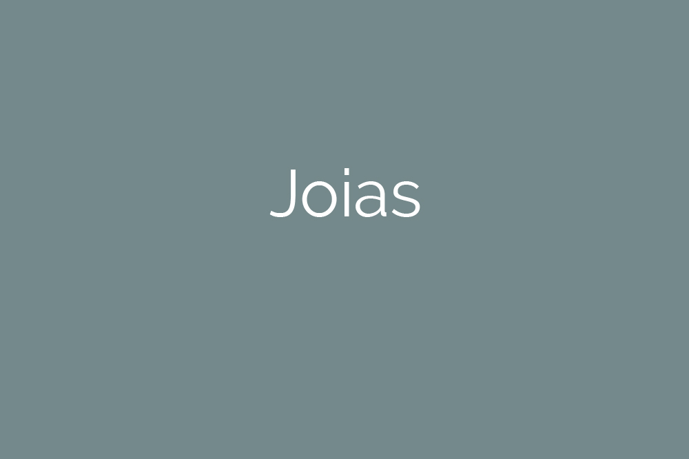 Fotografia de Joias