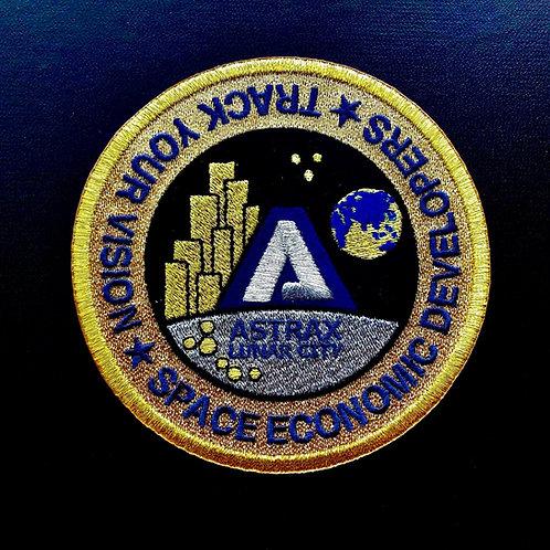 ASTRAX月面シティロゴワッペン