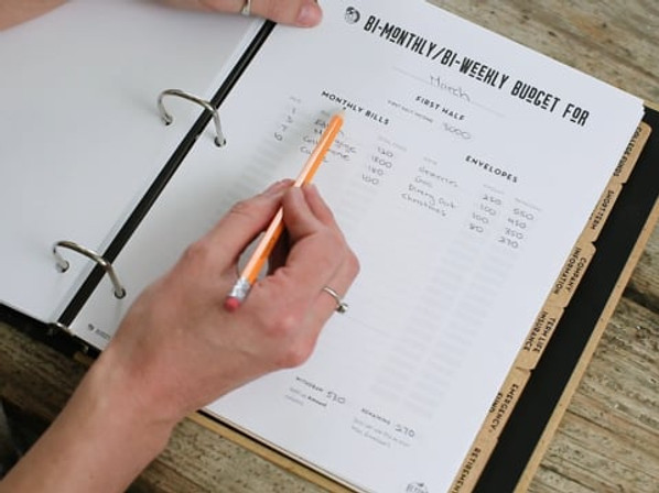 Bi-Monthly/Bi-Weekly Budget