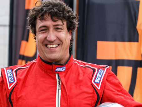 Javier Ibran Pardo starts in the GT Winter Series