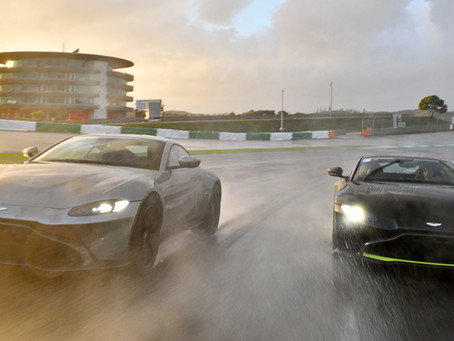 Aston Martin Partner der GT Winter Series