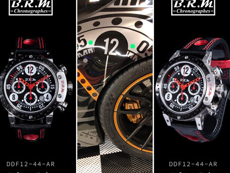 BRM Chronographes Partner der GT Winter Series