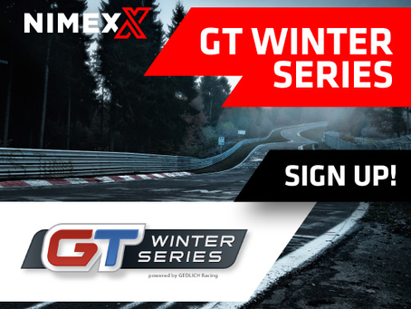 NIMEX wird Partner der GT Winter Series und stattet Teams und Fahrer mit Teilen und Zubehör aus