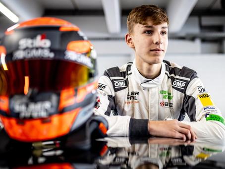 Nachwuchstalent Finn Gehrsitz startet bei der GT Winter Series