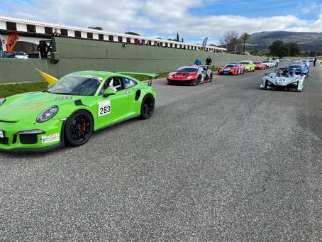Gelungene Generalprobe - GT Winter Series Preseason Kickoff Ascari unter Traumbedingungen