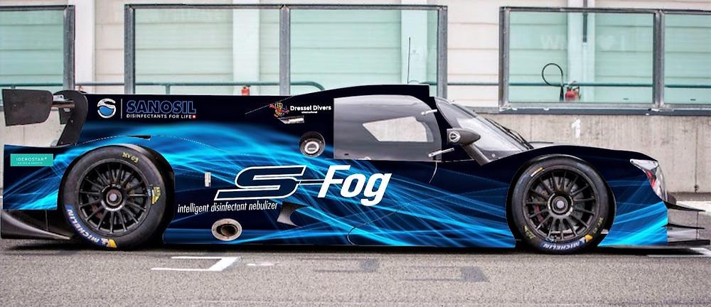 Der LMP3 von Javier Ibran Paro für die GT Winter Series sowie die ganze Saison 2021