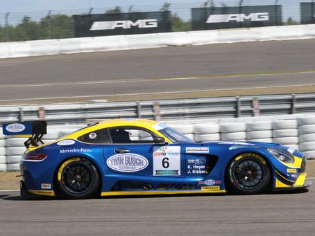 Équipe vitesse mit Sepp Klüber im AMG GT3 Twinbusch-Design