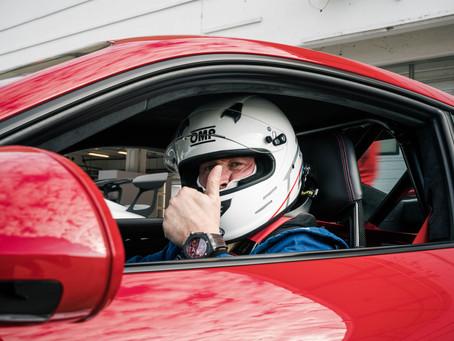 Andreas Greiling fährt GT Winter Series und erfüllt sich damit einen Traum