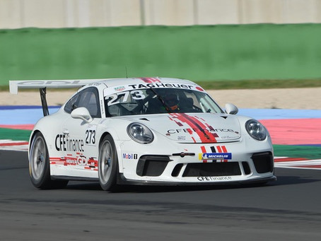 GDL-Racing with three Cup-Porsche at the GT Winter Series