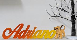 Scritta Adriano | Scritte Nomi Personalizzate