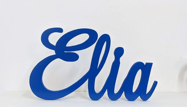 Scritta Elia | Scritte Nomi Personalizzate