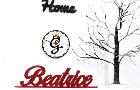 Scritta Beatrice
