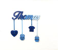 Scritta Nascita Thomas  | Scritte in legno