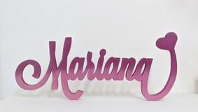 Scritta Mariana | Scritte in legno