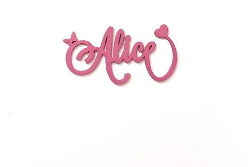 Scritta Alice   Scritte Nomi Personalizzate