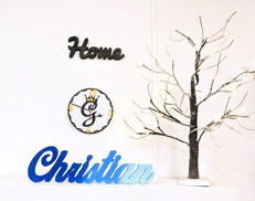 Scritta Christian