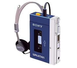 Sony Walkman from the 1980s on Totally 80s Radio