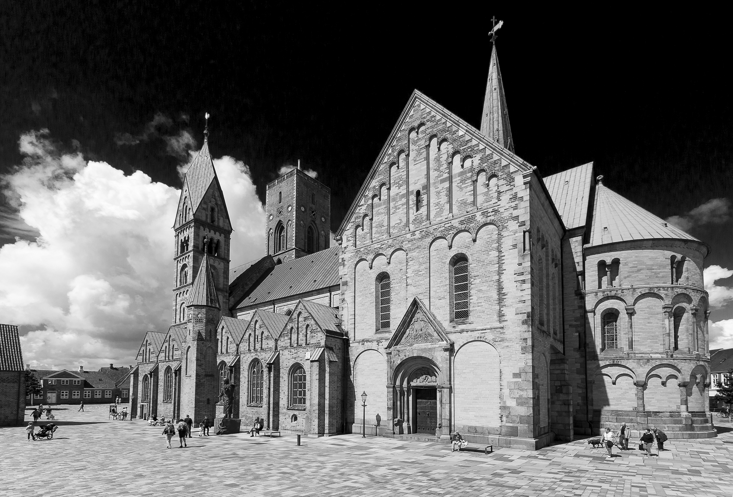 Domkirche in Ribe / Dänemark