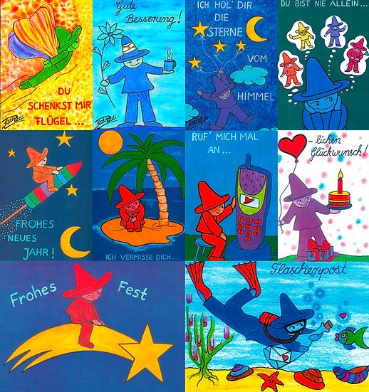 Postkarten-Set (sortiert) 10 Stück