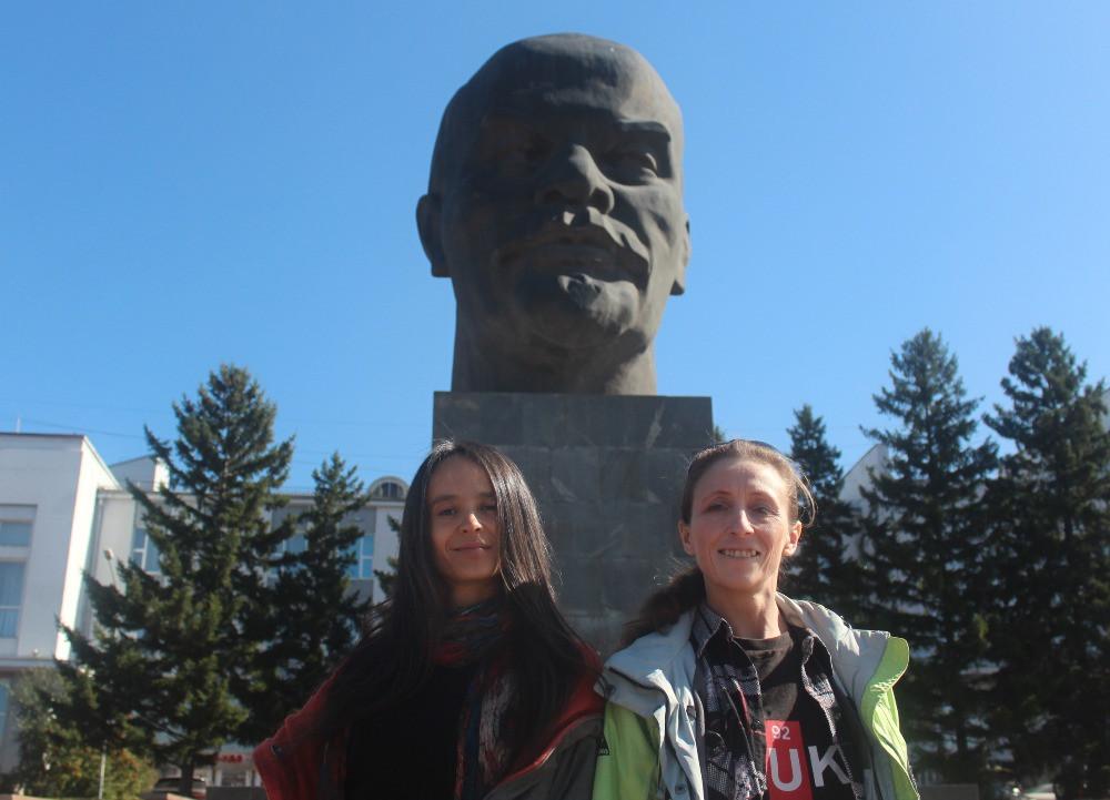 Юлия Алексеева (Улан-Удэ) и Олеся Ильина (Москва)