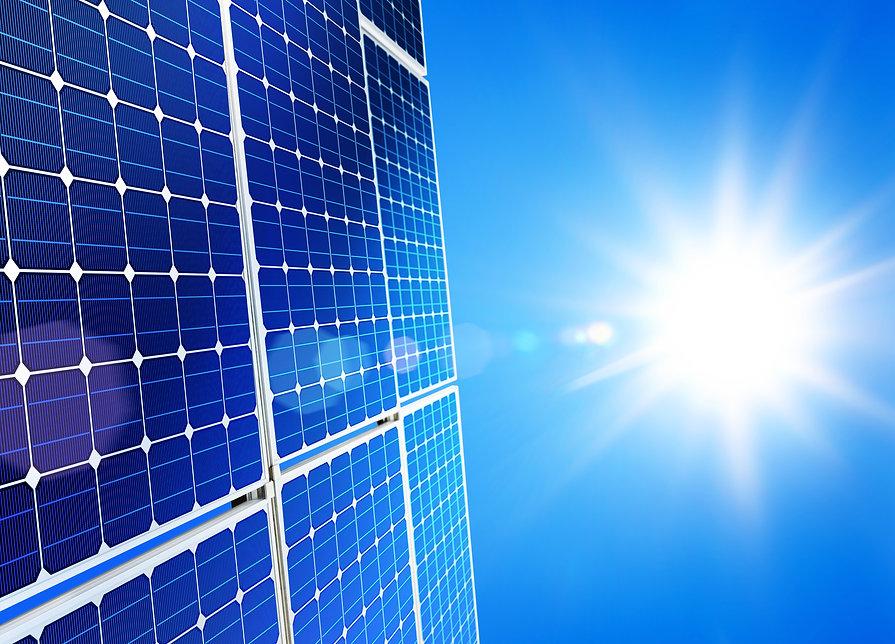 Renewable, alternative solar energy, sun